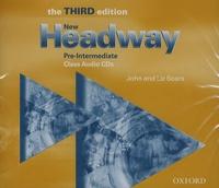 John Soars et Liz Soars - New Headway - Pre-Intermediate - Class Audio CDs. 2 CD audio MP3