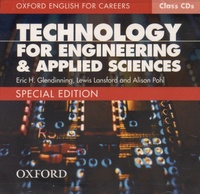 Eric Glendinning et Lewis Lansford - Technology for Engineering & Applied Sciences - Special edition. 2 CD audio