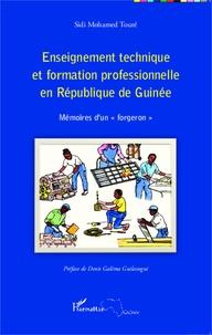 Histoiresdenlire.be Enseignement technique et formation professionnelle en République de Guinée - Mémoires d'un