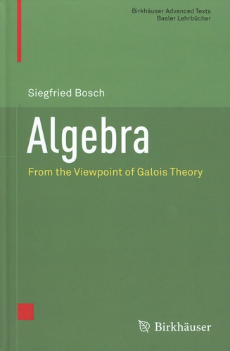 Algebra. From the Viewpoint of Galois Theory
