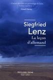 Siegfried Lenz - La leçon d'allemand.
