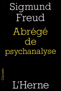 Sigmund Freud - Abrégé de psychanalyse.