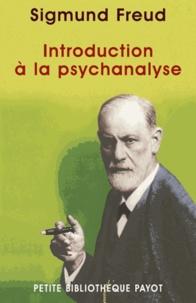 Sigmund Freud et Sigmund Freud - Introduction à la psychanalyse.