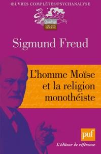 Sigmund Freud - L'homme Moïse et la religion monthéiste.