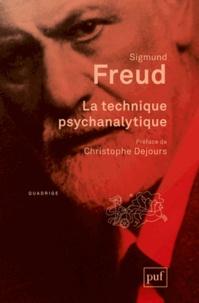 Sigmund Freud - La technique psychanalytique.