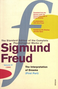 Galabria.be The Standard Edition of the Complete Psychological Works of Sigmund Freud - Volume 4 (1900) The Interpretation of Dreams (First Part) Image