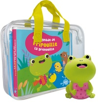 Sigrid Martinez - La baignade de Fripouille la grenouille - Avec 1 figurine en plastique.