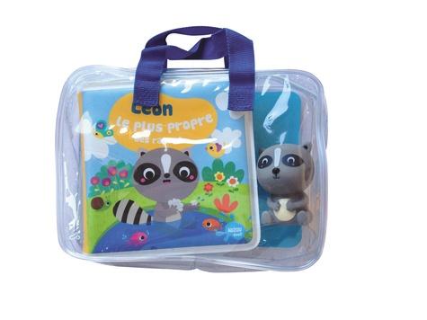 Léon, le plus propre des ratons. Avec 1 figurine en plastique