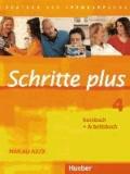 Silke Hilpert et Daniela Niebisch - Schritte plus 4. Kursbuch + Arbeitsbuch - Deutsch als Fremdsprache. Niveau A2/2.