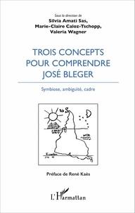 Silvia Amati-Sas et Marie-Claire Caloz-Tschopp - Trois concepts pour comprendre José Bleger - Symbiose, ambiguïté, cadre.