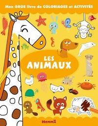 Silvia Lombardi et Monica Floreale - Les animaux - Mon gros livre de coloriages et activités.