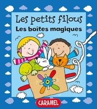 Simon Abbott et Les petits filous - Les boîtes magiques - Un petit livre pour apprendre à lire.