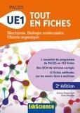Simon Beaumont et Elise Marche - UE1 Tout en fiches - Biochimie, biologie moléculaire, chimie organique.