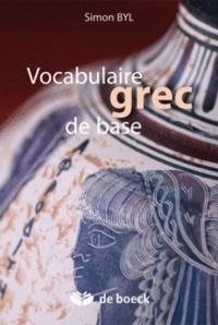 Simon Byl - Vocabulaire grec de base.