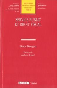 Simon Daragon - Service public et droit fiscal.