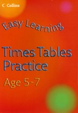 Simon Greaves et Helen Greaves - Easy Learning Times Tables Age 5-7.