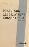 Simon Harel et  Mémoire d'encrier - Place aux littératures autochtones.
