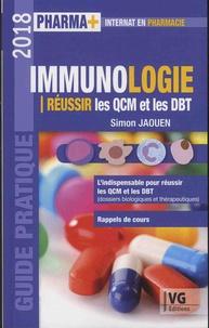 Pdf téléchargeur de livre en ligne pdf Immunologie  - Réussir les QCM et les DBT