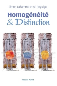 Simon Laflamme - Homogénéité et distinction.