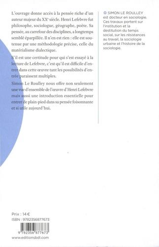 Introduction à la sociologie d'Henri Lefebvre