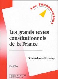 Les grands textes constitutionnels de la France.pdf
