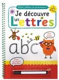 Simon Mugford et Katherine Radcliffe - Je découvre les lettres - A partir de 3 ans. Avec un feutre effaçable !.