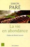 Simon Paré - La vie en abondance.