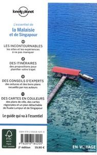 Simon Richmond et Lindsay Brown - L'essentiel de la Malaisie et de Singapour. 1 Plan détachable