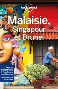 Simon Richmond et Brett Atkinson - Malaisie, Singapour et Brunei. 1 Plan détachable