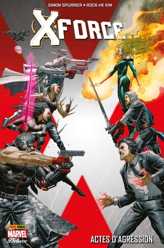 X-Force - Simon Spurrier, Rock He Kim - 9782809471830 - 19,99 €