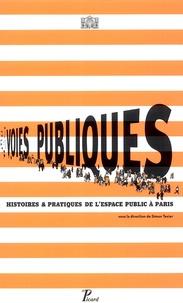 Simon Texier - Voies publiques - Histoires & pratiques de l'espace public à Paris.