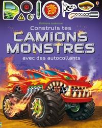Simon Tudhope et  Gong Studios - Construis tes camions monstres avec des autocollants.