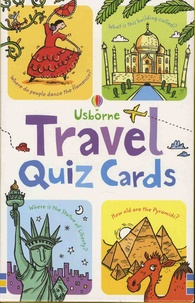 Simon Tudhope et Kirsteen Robson - Travel Quiz cards.