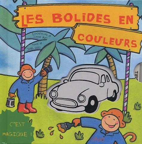 Simone Abel et Janet Sacks - Les bolides en couleurs.