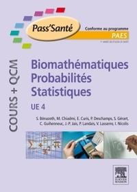 Simone Bénazeth et Mohammed Chiadmi - Biomathématiques, probabilités, statistiques UE4.