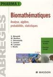 Simone Bénazeth et Michel Boniface - Biomathématiques - Pharmacie, Médecine 1e et 2e années.