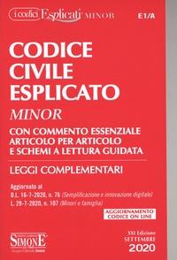 Simone - Codice Civile Esplicato - Minor E1/A.