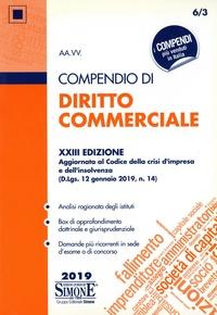Simone - Compendio di diritto commerciale.