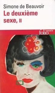 Simone de Beauvoir - Le deuxième sexe Tome 2 : L'expérience vécue.