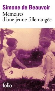 Mémoires d'une jeune fille rangée - Simone de Beauvoir - Format PDF - 9782072441677 - 7,99 €