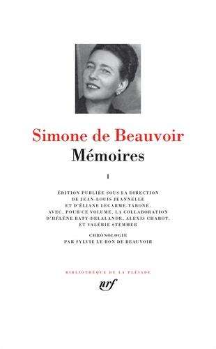 Simone de Beauvoir et Jean-Louis Jeannelle - Mémoires - Tome 1.