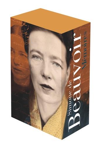 Simone de Beauvoir et Jean-Louis Jeannelle - Mémoires - Coffret en 2 volume. Tomes 1 et 2.