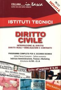 Simone (Edizioni) - Istituti tecnici, Diritto civile - Introduzione al diritto, diritti reali, obbligazioni e contratti.