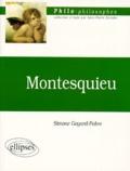 Simone Goyard-Fabre - Montesquieu ou La constitution de la liberté.