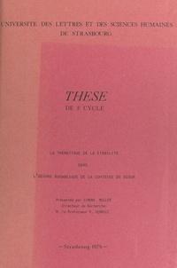 Simone Muller et  Université des lettres et des - La thématique de la stabilité dans l'œuvre romanesque de la comtesse de Ségur - Thèse de 3e cycle.