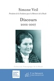 Simone Veil - Discours - 2002-2007.