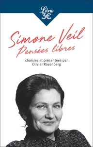 Simone Veil - Pensées libres.