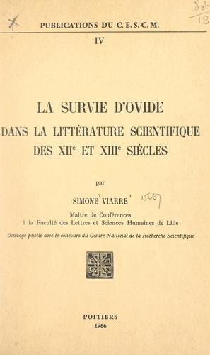 La survie d'Ovide dans la littérature scientifique des XIIe et XIIIe siècles
