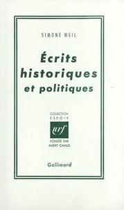 Deedr.fr Ecrits historiques et politiques Image