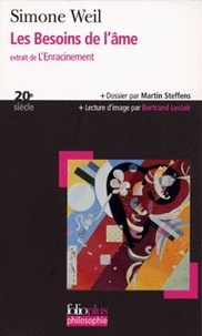 Simone Weil - Les besoins de l'âme - Extrait de L'Enracinement.